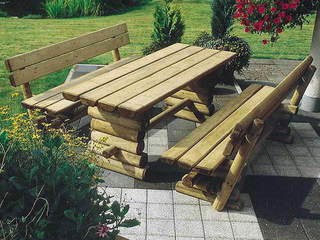 Holz Gartenmöbel Individuell In Bester Qualität