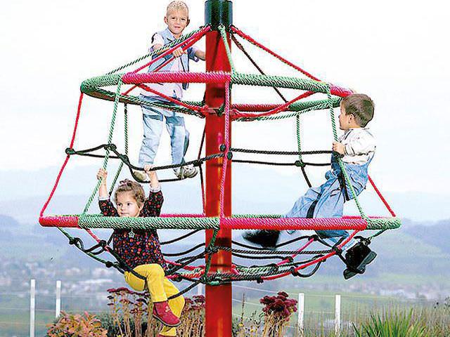 Klettergerüst Zum Hangeln : Klettergerüste für spielplätze & den heimischen garten